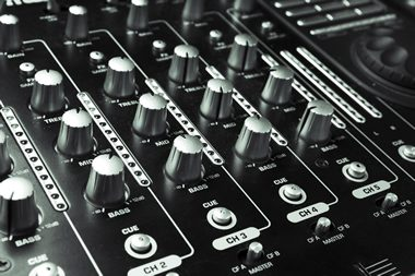 Music product: audio mixer