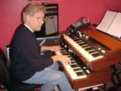 Kyle Lehning at keyboard